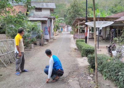 Tim Penyusun RKPDes Desa Sukahurip lakukan Survey Lapangan